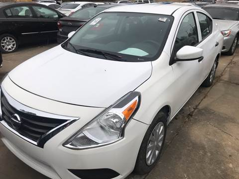 2017 Nissan Versa for sale at EADS AUTO SALES in Arlington TN