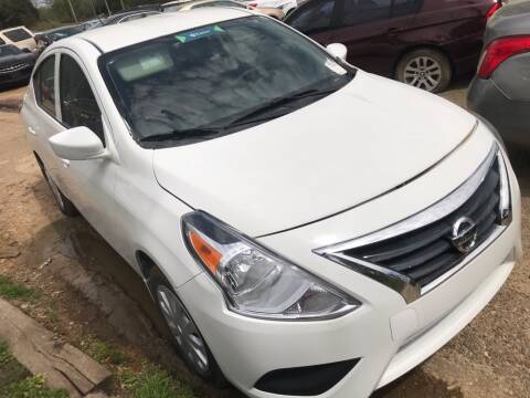 2019 Nissan Versa S for sale at EADS AUTO SALES in Arlington TN