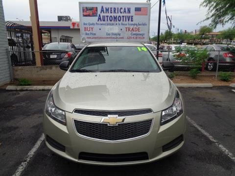 Chevrolet Cruze For Sale In Tucson Az Carsforsale Com