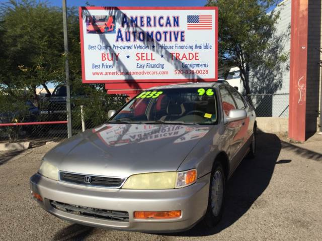 1996 HONDA ACCORD EX other front air conditioning cruise control multi-function remote - trunk