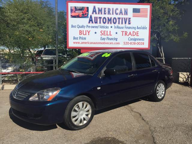 2006 MITSUBISHI LANCER ES blue grille color - chrome air filtration front air conditioning cen