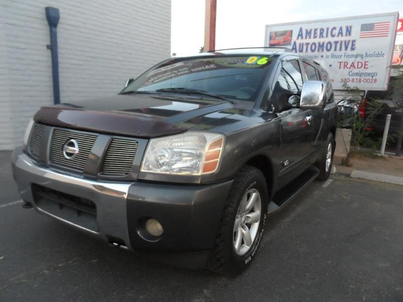 Used Nissan Armada For Sale Sierra Vista, AZ - CarGurus