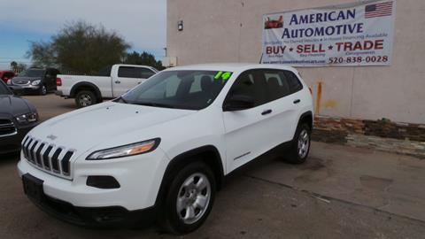 2014 Jeep Cherokee for sale in Tucson, AZ