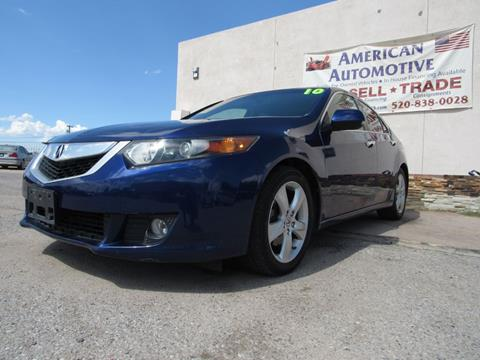 2010 Acura TSX for sale in Tucson, AZ