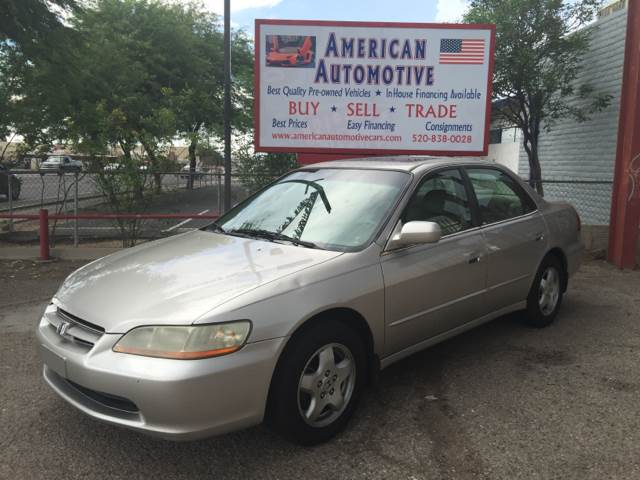 1998 HONDA ACCORD EX V6 4DR SEDAN silver a mini spare tire is included with this vehicle  the ca