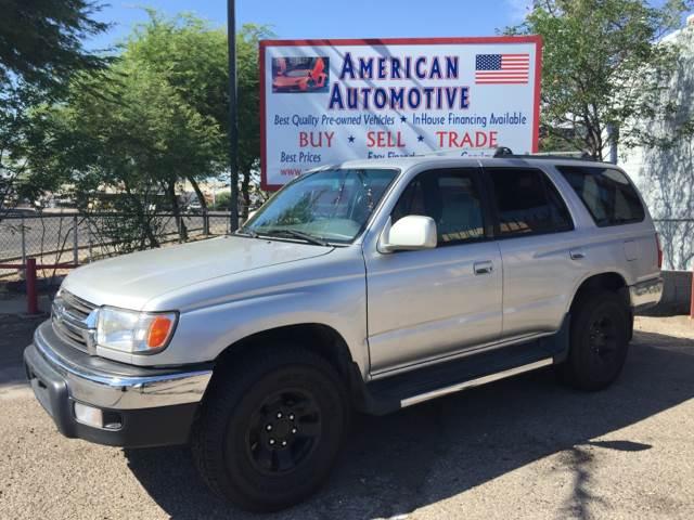 2002 TOYOTA 4RUNNER SR5 2WD 4DR SUV silver air conditioning power windows power locks power st