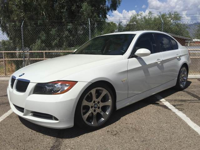 2006 BMW 3 SERIES 330I 4DR SEDAN white we are tucsons newest dealership we are conveniently loc