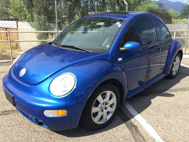 2003 VOLKSWAGEN NEW BEETLE GLS 18T 2DR TURBO HATCHBACK blue air conditioning power steering ti