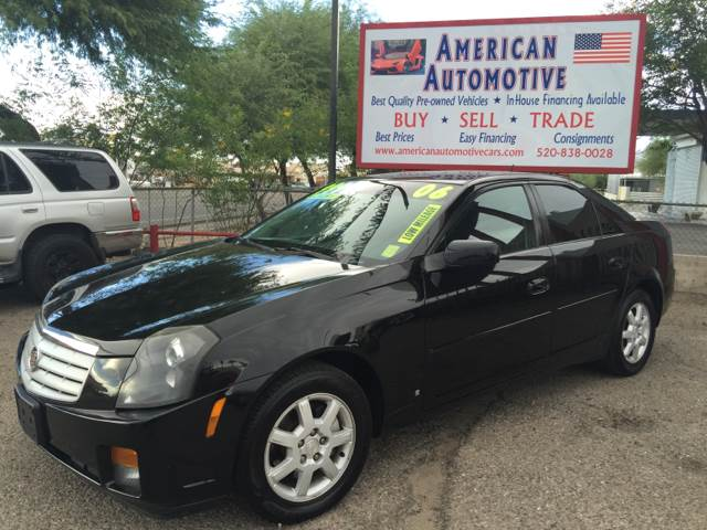 2006 CADILLAC CTS BASE 4DR SEDAN W28L black you have to come check out this cadilliac you will
