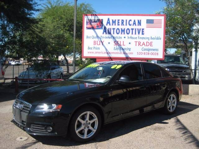 2009 AUDI A4 20T QUATTRO AWD PREMIUM 4DR SED black the point here is that the a4 is fun confide