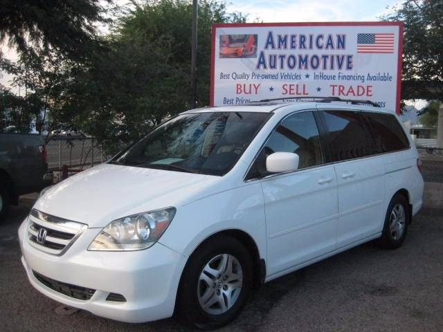 2006 HONDA ODYSSEY EXL white the front windshield is in excellent condition  the paint is in gre