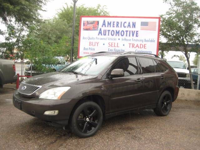 2004 LEXUS RX 330 BASE 4DR SUV maroon the front windshield is in excellent condition  the paint