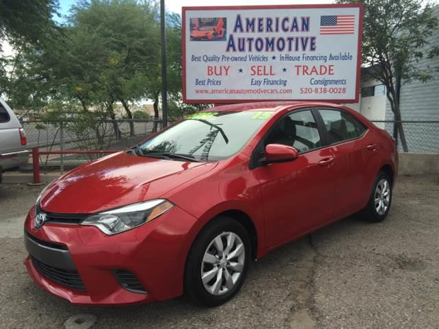 2015 TOYOTA COROLLA LE PREMIUS PLUS black abs - 4-wheel air filtration airbag deactivation - oc