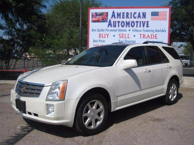 2004 CADILLAC SRX BASE white the front windshield is in excellent condition  the paint is in gre