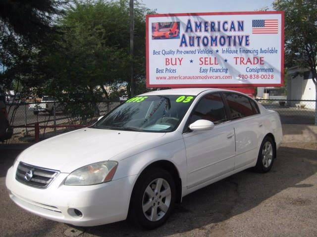2003 NISSAN ALTIMA 25 S white the front windshield is in excellent condition  the paint is in g