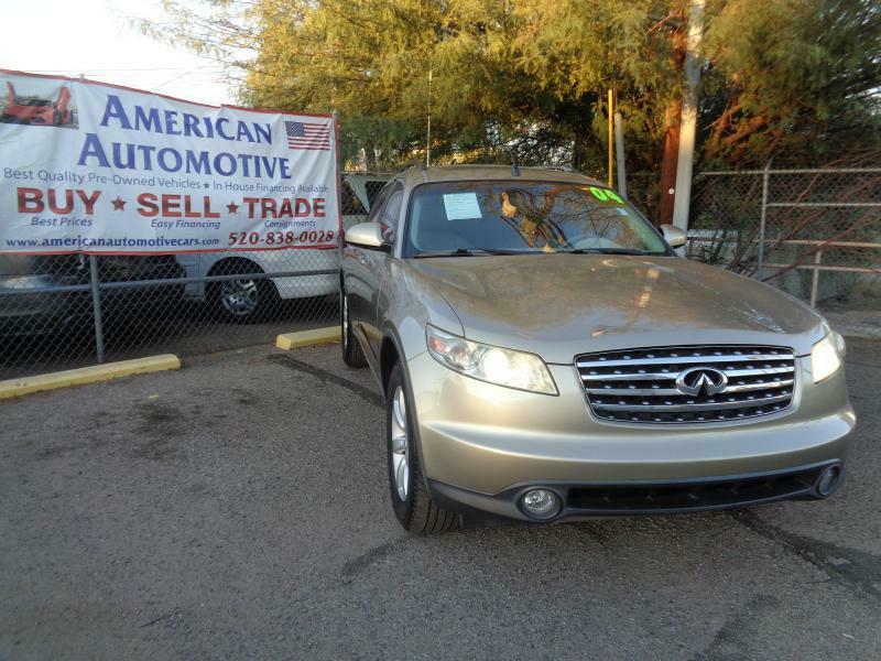 2004 infiniti fx35 awd 4dr suv in tucson az american automotive llc 2004 infiniti fx35 awd 4dr suv tucson az sciox Images