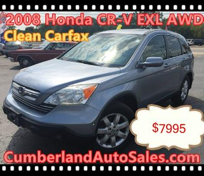 2008 Honda CR-V for sale in Des Plaines IL