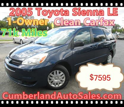 2005 Toyota Sienna for sale in Des Plaines, IL