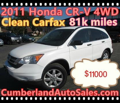 2011 Honda CR-V for sale in Des Plaines IL