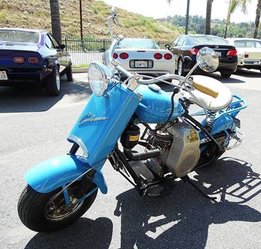 1957 Cushman Eagle Scooter
