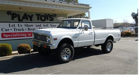 1972 Chevrolet Cheyenne K20 Longbed 4x4 for sale at Play Toys Classic Cars in Redlands CA