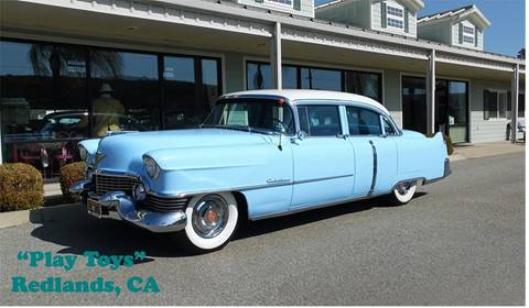 1954 Cadillac Series 62 for sale at Play Toys Classic Cars in Redlands CA