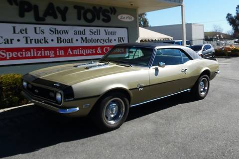1968 Chevrolet Camaro for sale at Play Toys Classic Cars in Redlands CA
