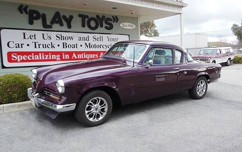 1953 Studebaker Commander for sale at Play Toys Classic Cars in Redlands CA