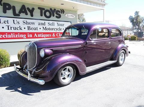 1938 Plymouth Deluxe for sale at Play Toys Classic Cars in Redlands CA