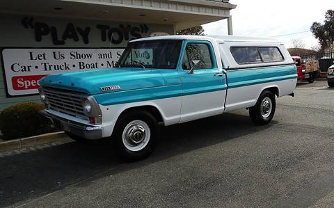 1967 Ford F-250 for sale at Play Toys Classic Cars in Redlands CA