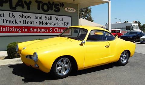 1968 Volkswagen Karmann Ghia for sale in Redlands, CA