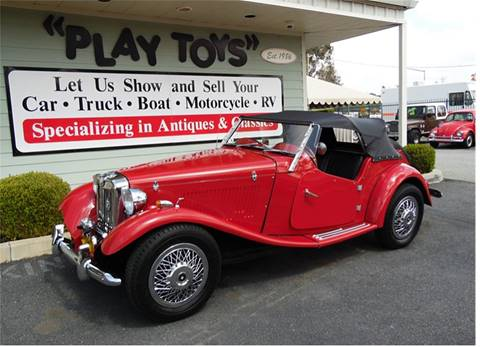 1952 MG TD for sale in Redlands, CA