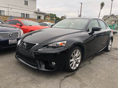 2014 Lexus IS 250 for sale at Auto Ave in Los Angeles CA