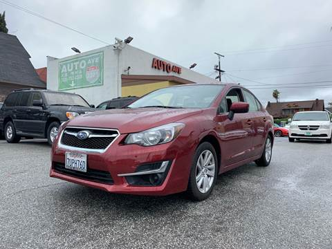 2016 Subaru Impreza for sale at Auto Ave in Los Angeles CA