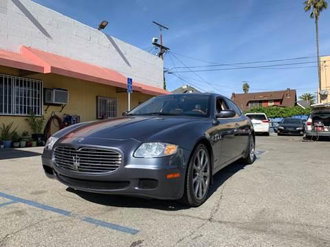 2006 Maserati Quattroporte for sale at Auto Ave in Los Angeles CA