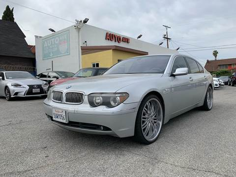 2002 BMW 7 Series for sale at Auto Ave in Los Angeles CA