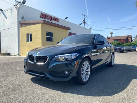 2014 BMW 2 Series for sale at Auto Ave in Los Angeles CA