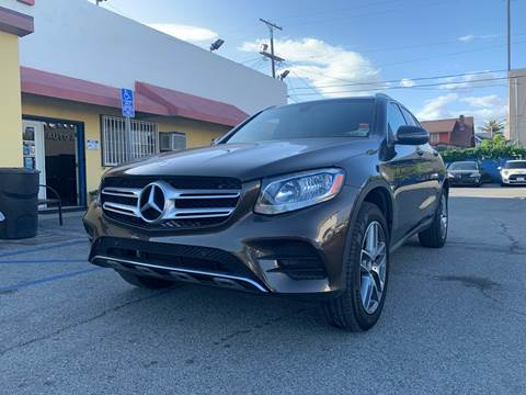 2016 Mercedes-Benz GLC for sale at Auto Ave in Los Angeles CA