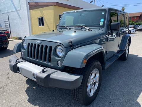 2014 Jeep Wrangler Unlimited for sale at Auto Ave in Los Angeles CA