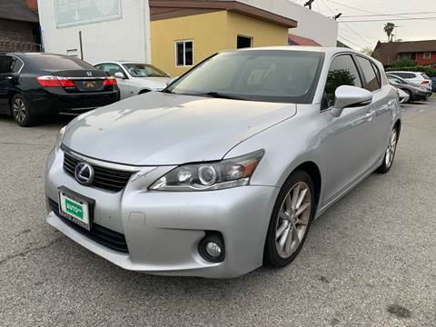 2013 Lexus CT 200h for sale at Auto Ave in Los Angeles CA