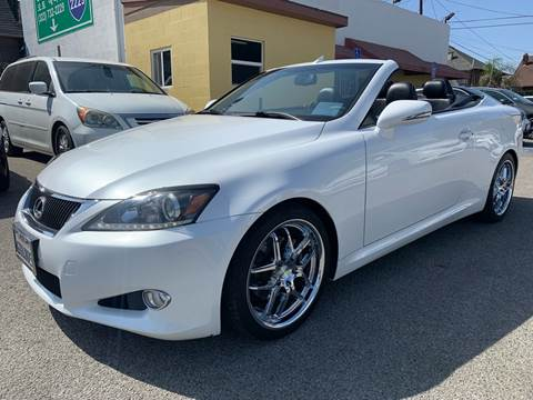 2011 Lexus IS 250C for sale at Auto Ave in Los Angeles CA