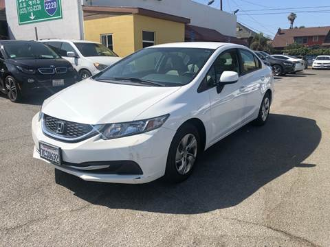 2013 Honda Civic for sale at Auto Ave in Los Angeles CA