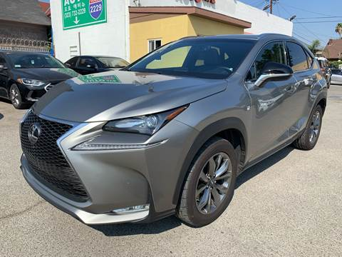 2015 Lexus NX 200t for sale at Auto Ave in Los Angeles CA