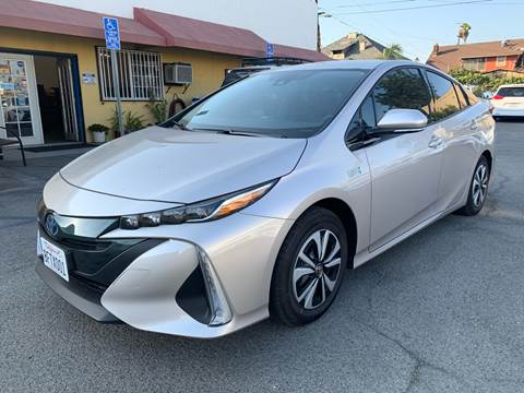 2018 Toyota Prius Prime for sale at Auto Ave in Los Angeles CA