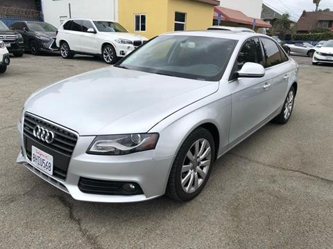 2009 Audi A4 for sale at Auto Ave in Los Angeles CA