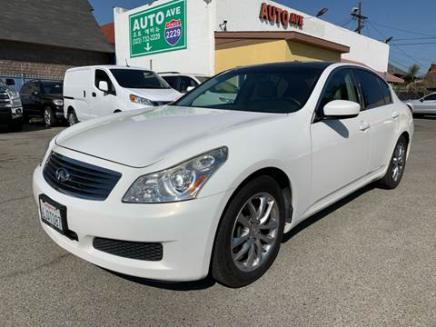 2009 Infiniti G37 Sedan for sale at Auto Ave in Los Angeles CA