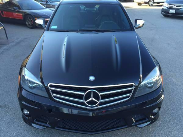 2009 mercedes benz c class c63 amg 4dr sedan in los for Mercedes benz service los angeles