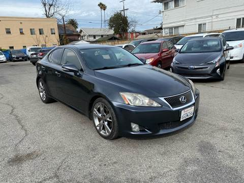 2009 Lexus IS 250 for sale at Auto Ave in Los Angeles CA