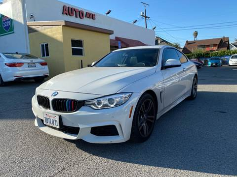 2014 BMW 4 Series for sale at Auto Ave in Los Angeles CA