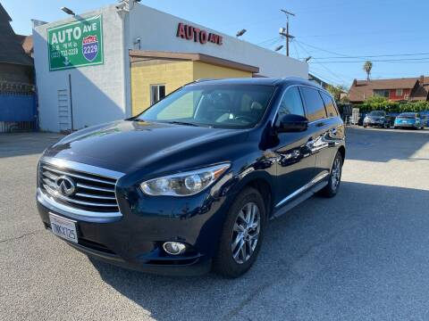 2015 Infiniti QX60 for sale at Auto Ave in Los Angeles CA